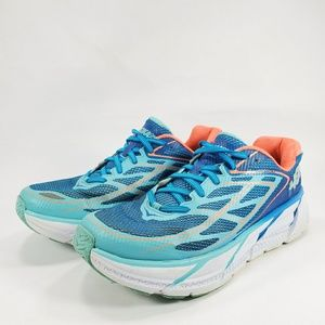 Hoka One One Clifton 3 Running Shoes Blue Coral